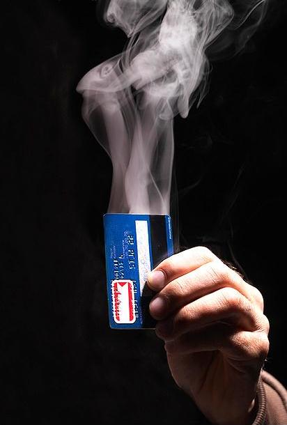 smoking credit card